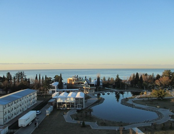 View from Sochi hotel room _6460732187571732606