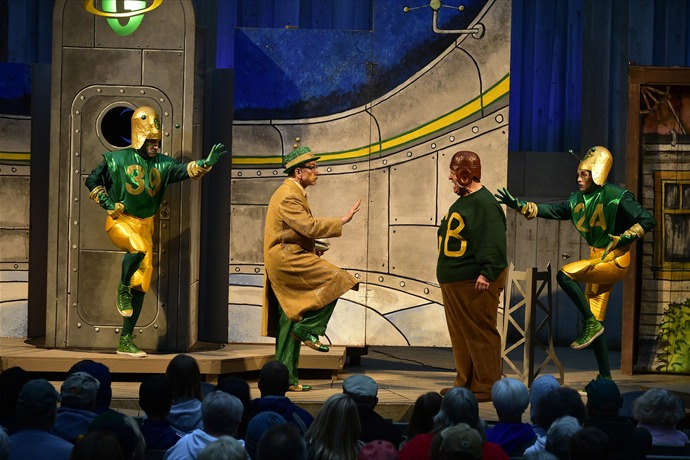American Folklore Theatre_ _Packer Fans from Outer Space__6680515640279254701