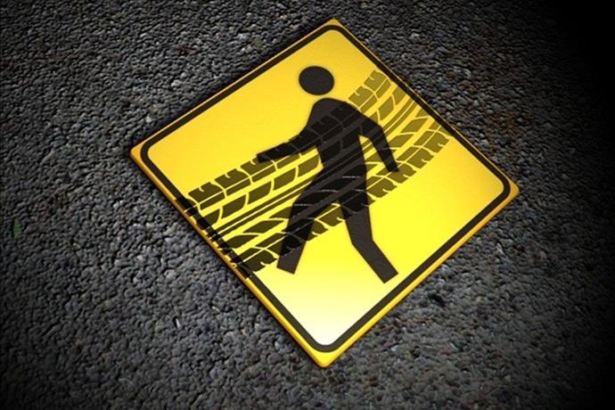 pedestrian hit_1544038850566311239