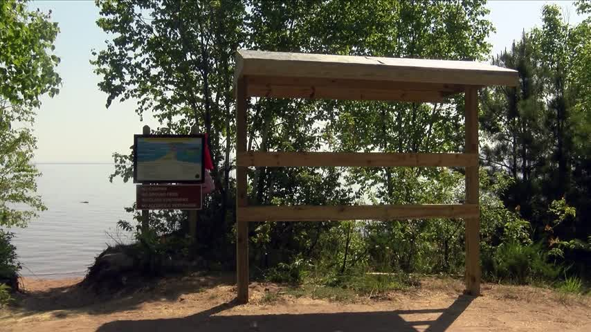 New water safety stations constructed at Little Presque Isle_20160624222309
