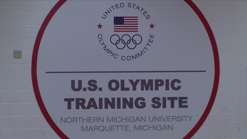 Touring an Olympic Training site_82340963