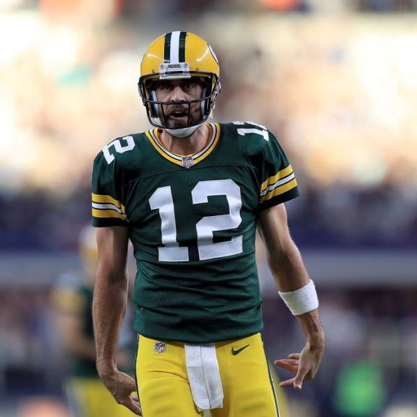 Packers Aaron Rodgers vs Dallas October 2017