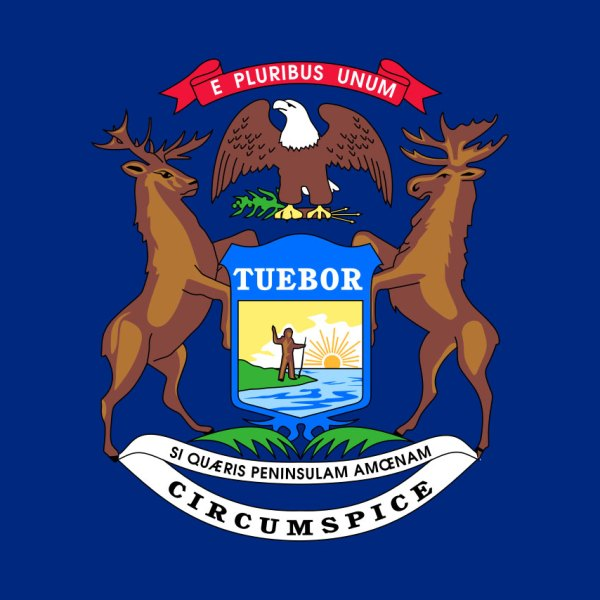 Michigan state flag49883212-159532