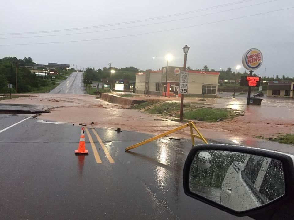 Houghton County flood...