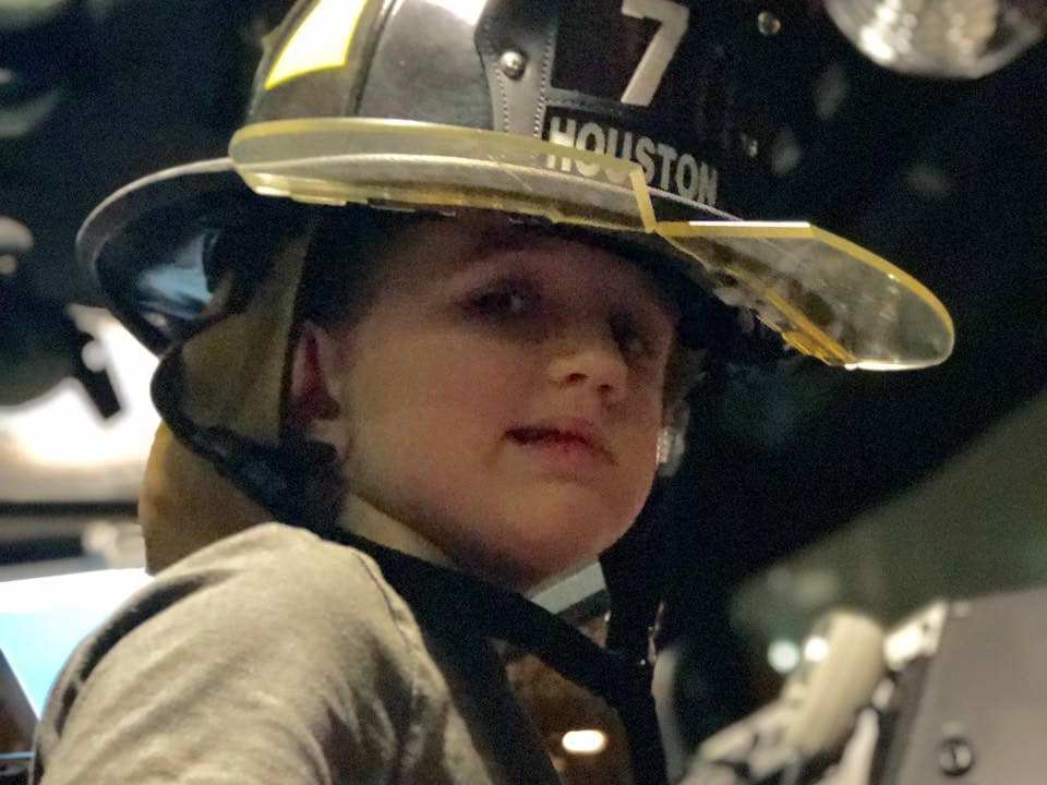 Young Alaska boy asking for firefighter patches during hospital stay