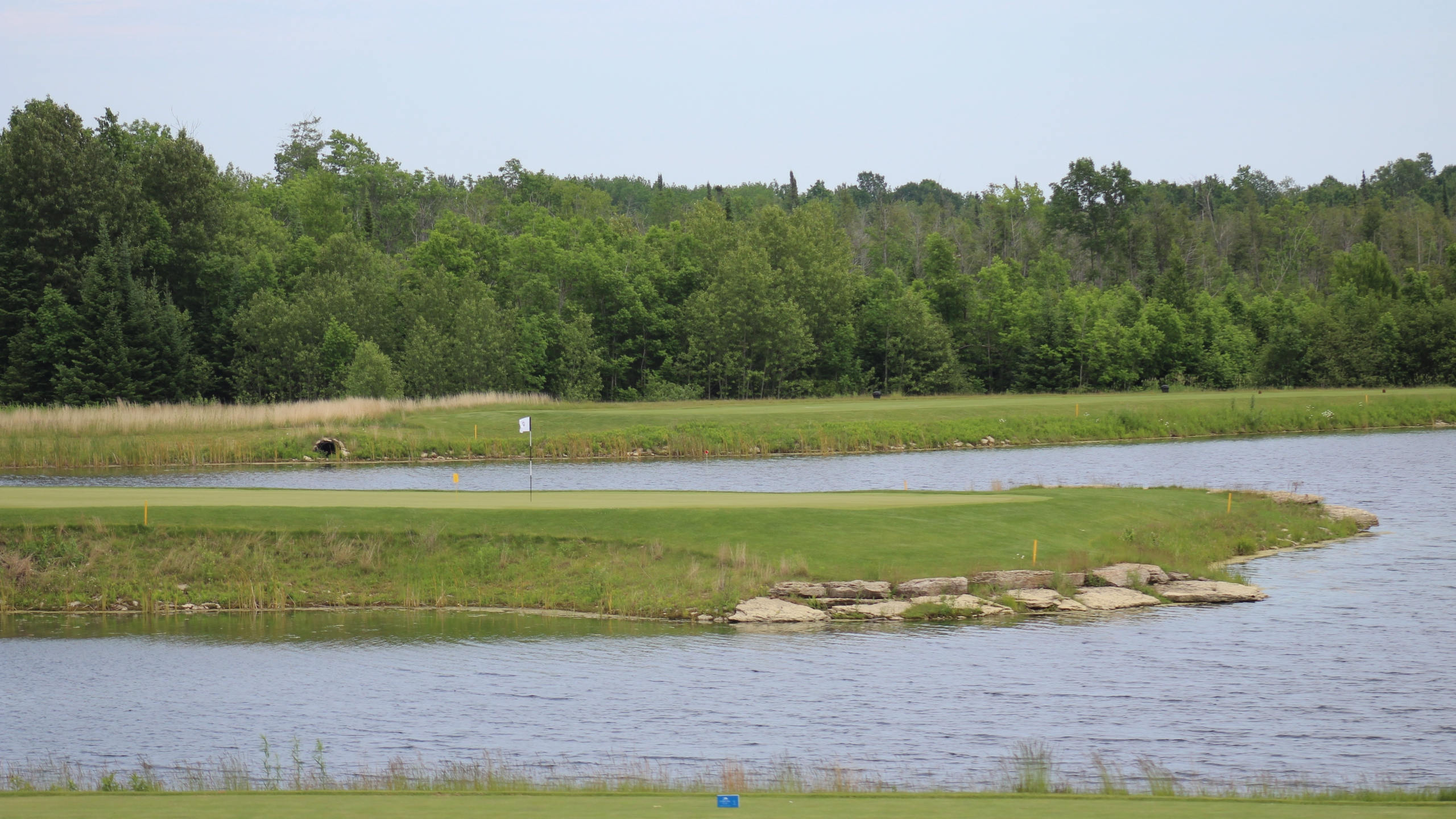 Sweetgrass Golf Club, Hole 15 view 1