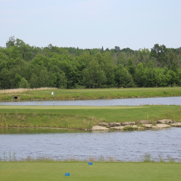 Sweetgrass Golf Club, Hole 15 view 1