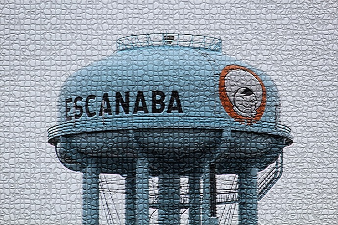 Escanaba Water Tower _-6826675832509742856