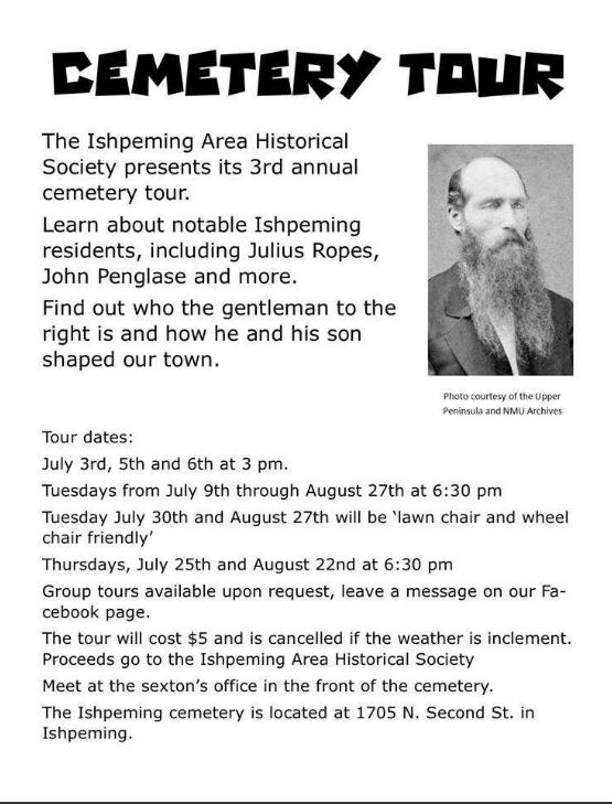 Ishpeming Cemetery Tour