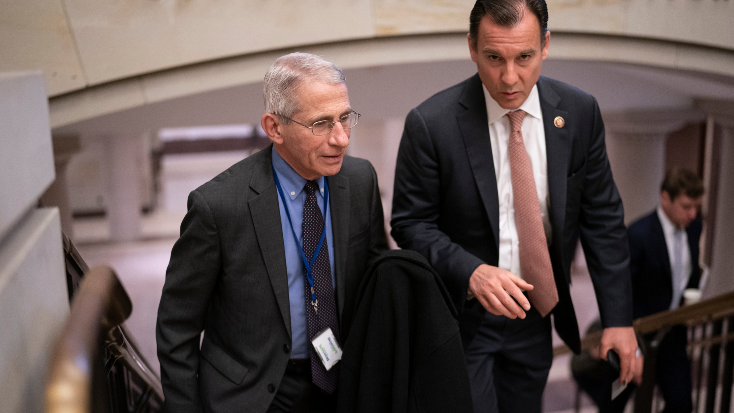 Anthony Fauci, Tom Suozzi