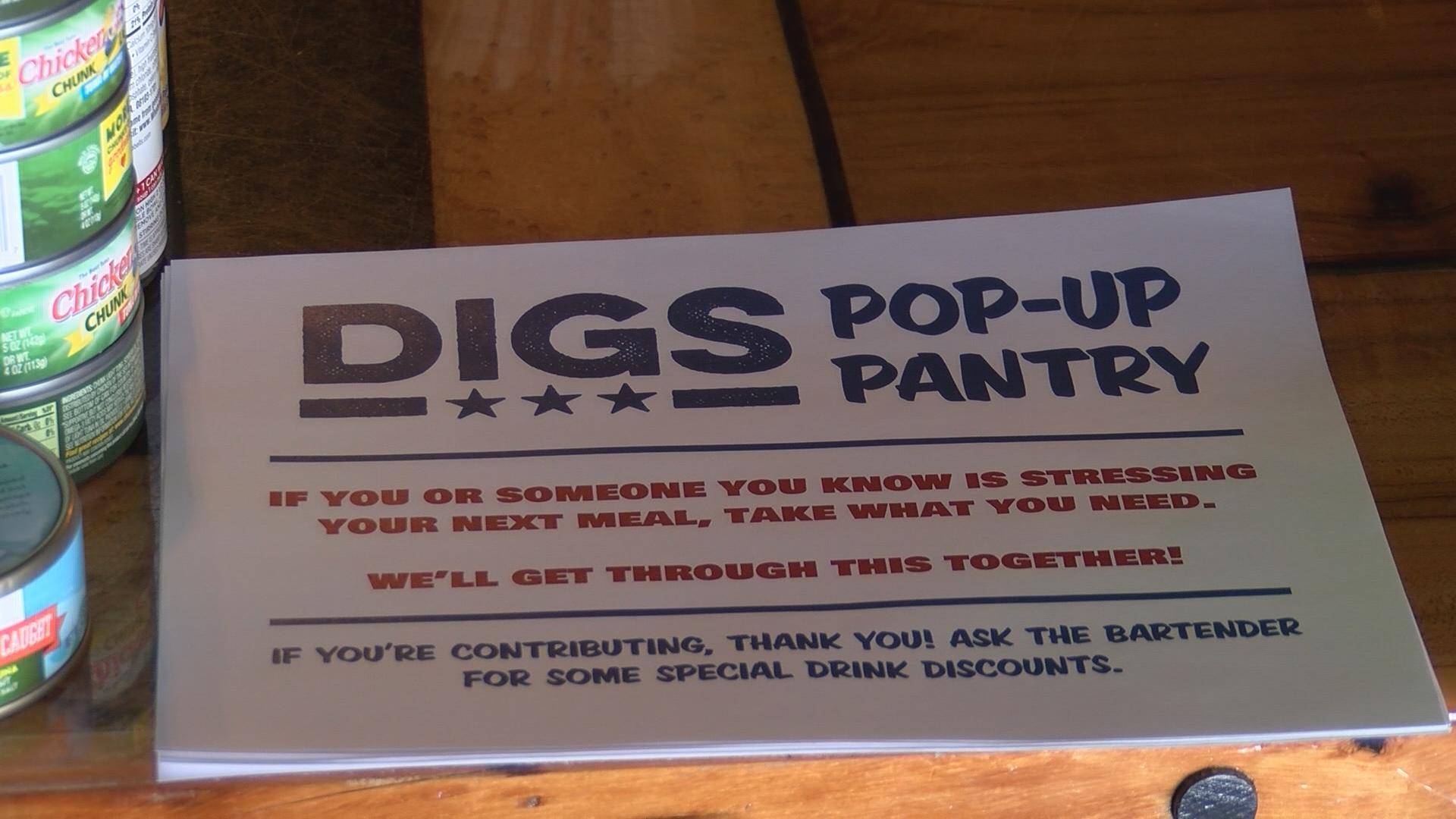 Dig's Pop Up Pantry