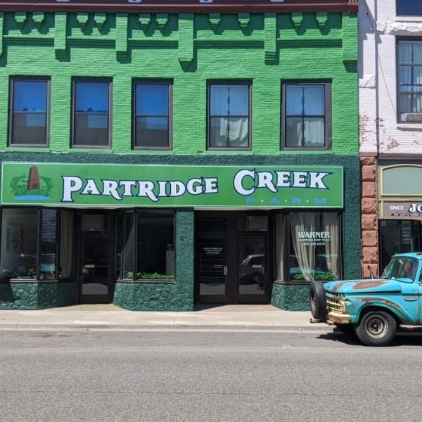 Partridge Creek Farm office in Ishpeming on Main St.