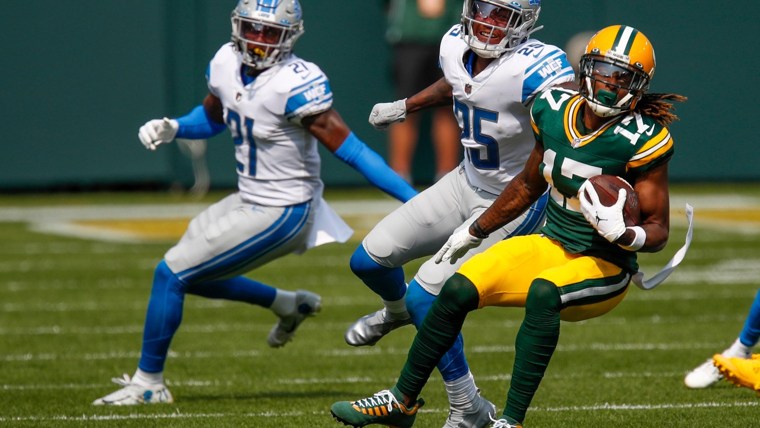 Packers Davante Adams Unsure Of His Status For Saints Game Wjmn Upmatters Com