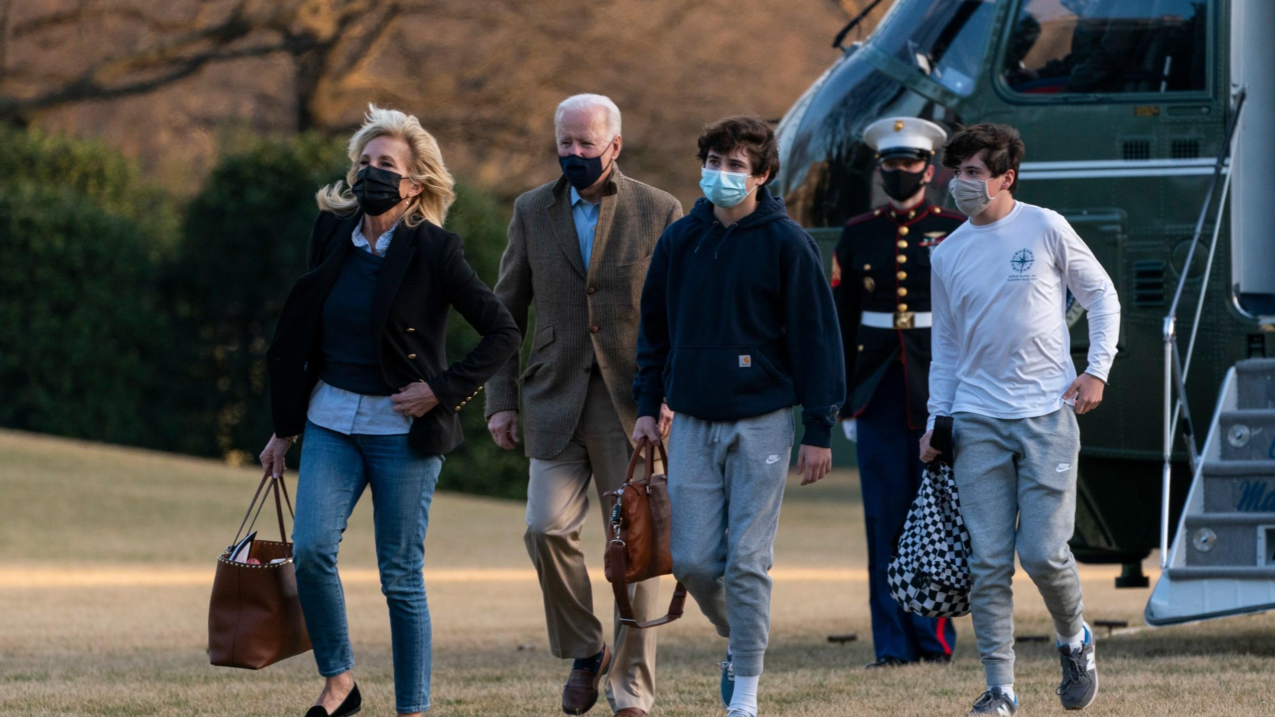 Joe Biden, Jill Biden, Hunter Biden