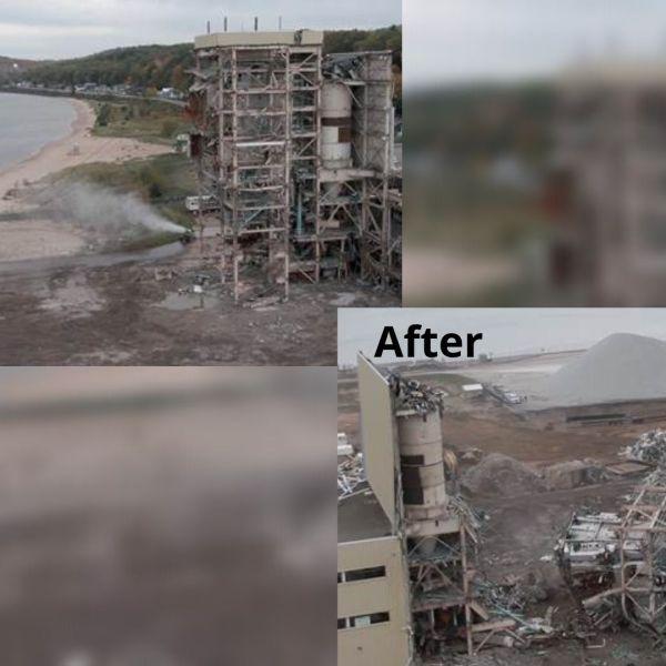 Shiras Plant Demolition